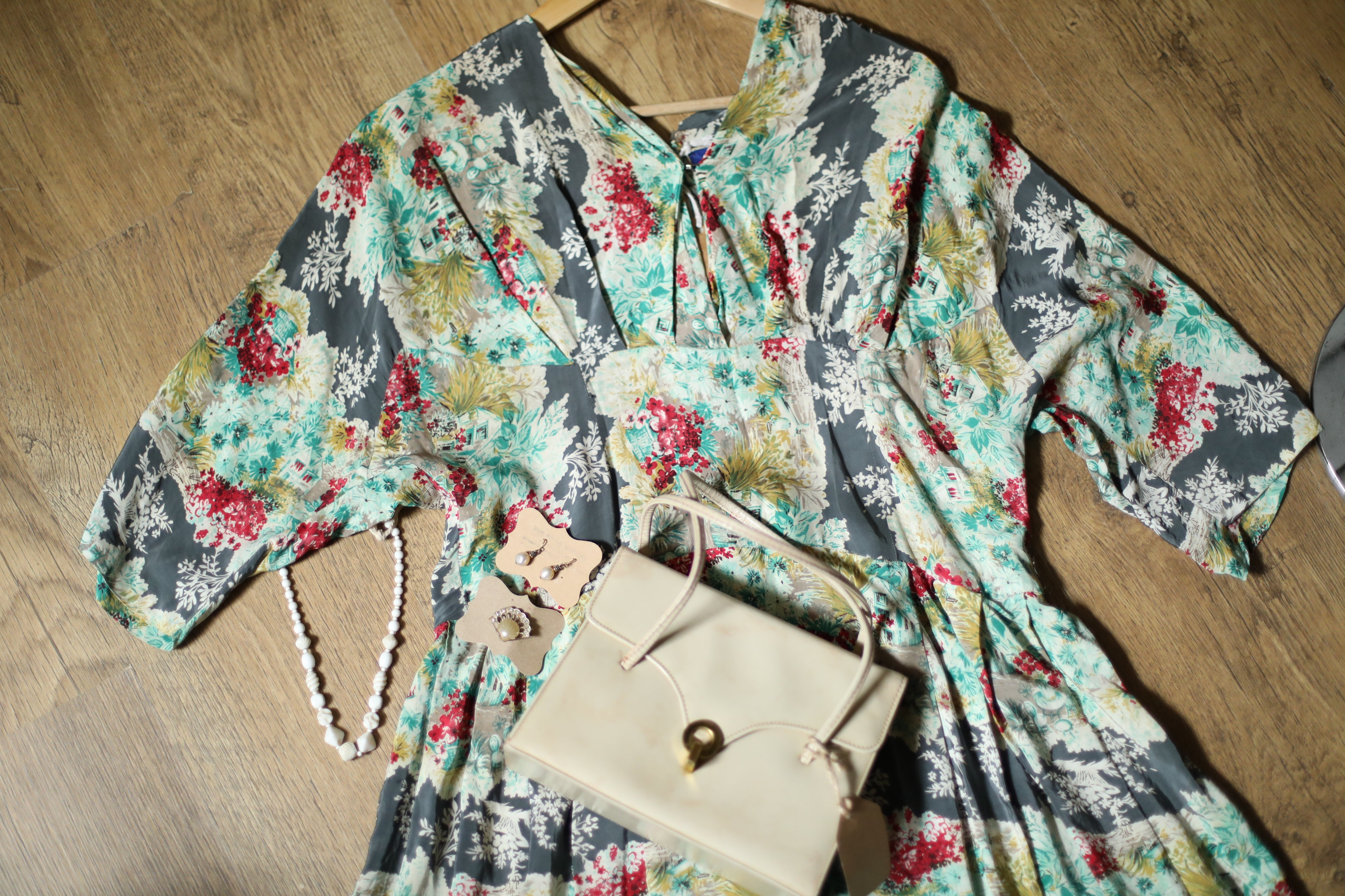 """1960s cardigan"" Suede and knit Mens Vintage cardigan."