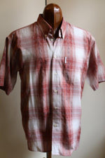 "Load image into Gallery viewer, ""Vintage Ben Sherman"" cotton 1980s plaid shirt."