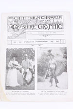 "Load image into Gallery viewer, ""Cheltenham chronical"" Gloshire Graphic Leaflet book"