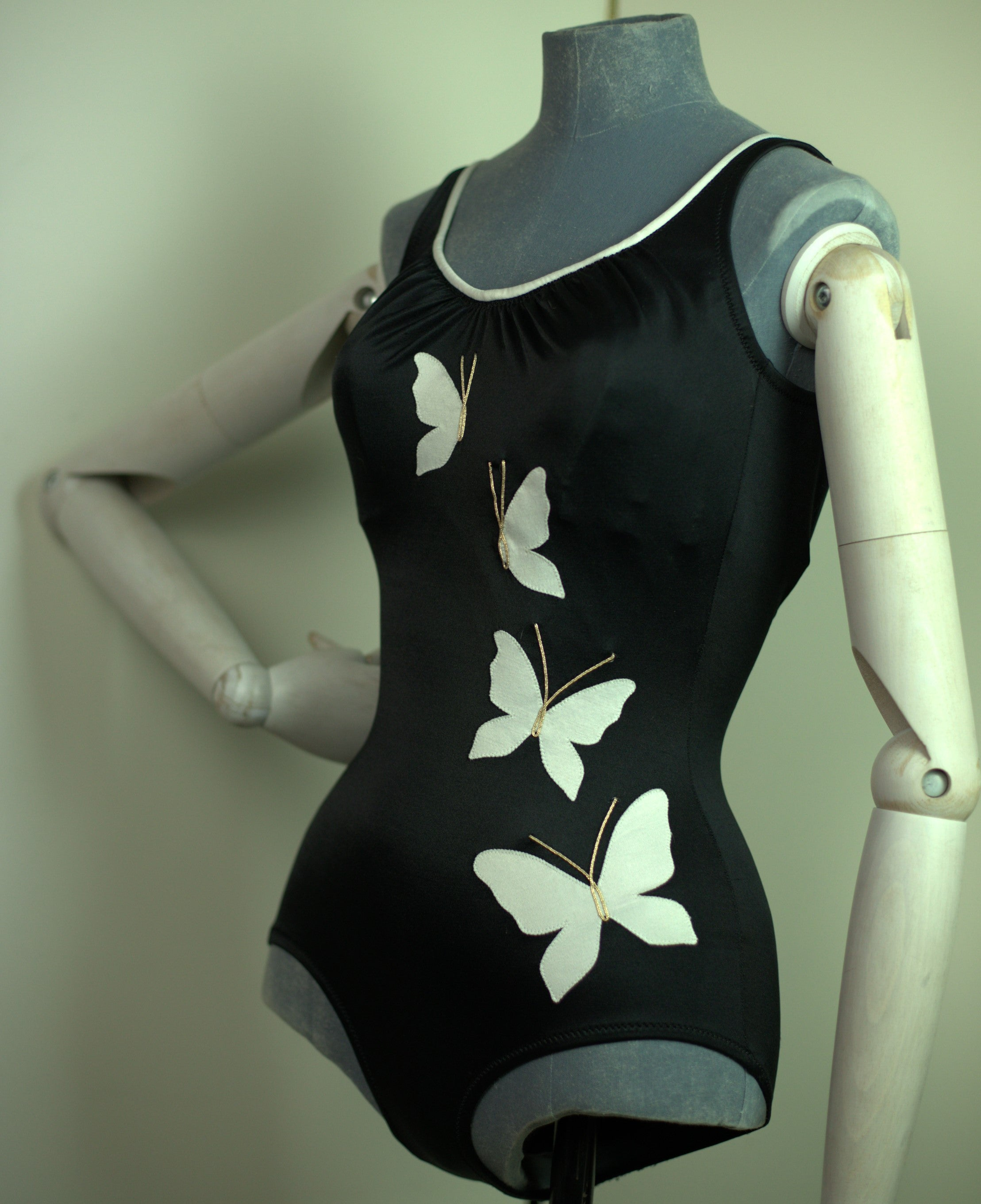 Vintage Novelty 1960s Deweese swimsuit.