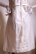 "Load image into Gallery viewer, ""Vintage ivory dress"" 1960s Exclusively made."