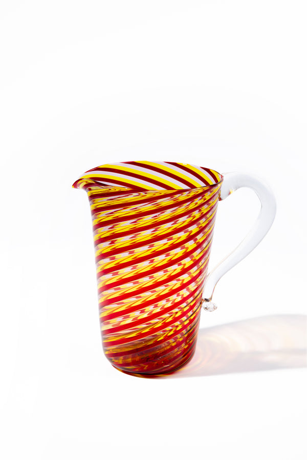 CANDY STRIPE PITCHER