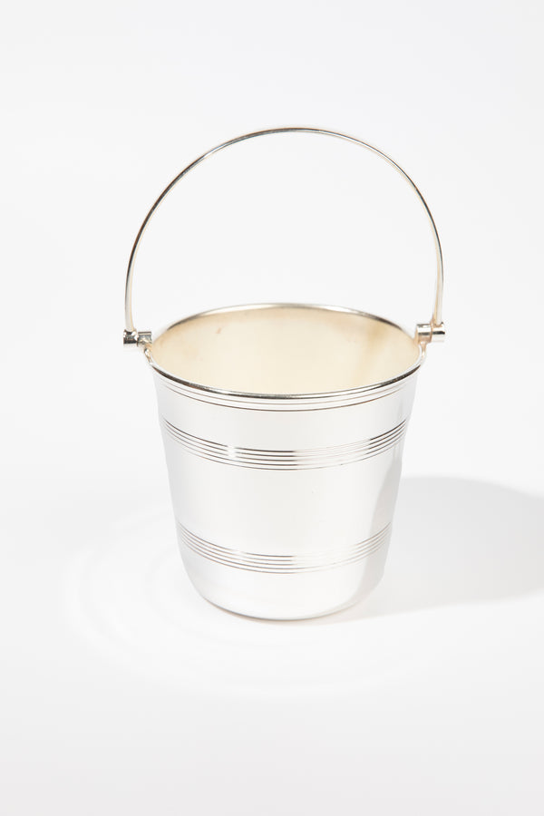 VINTAGE SILVER ICE PAIL