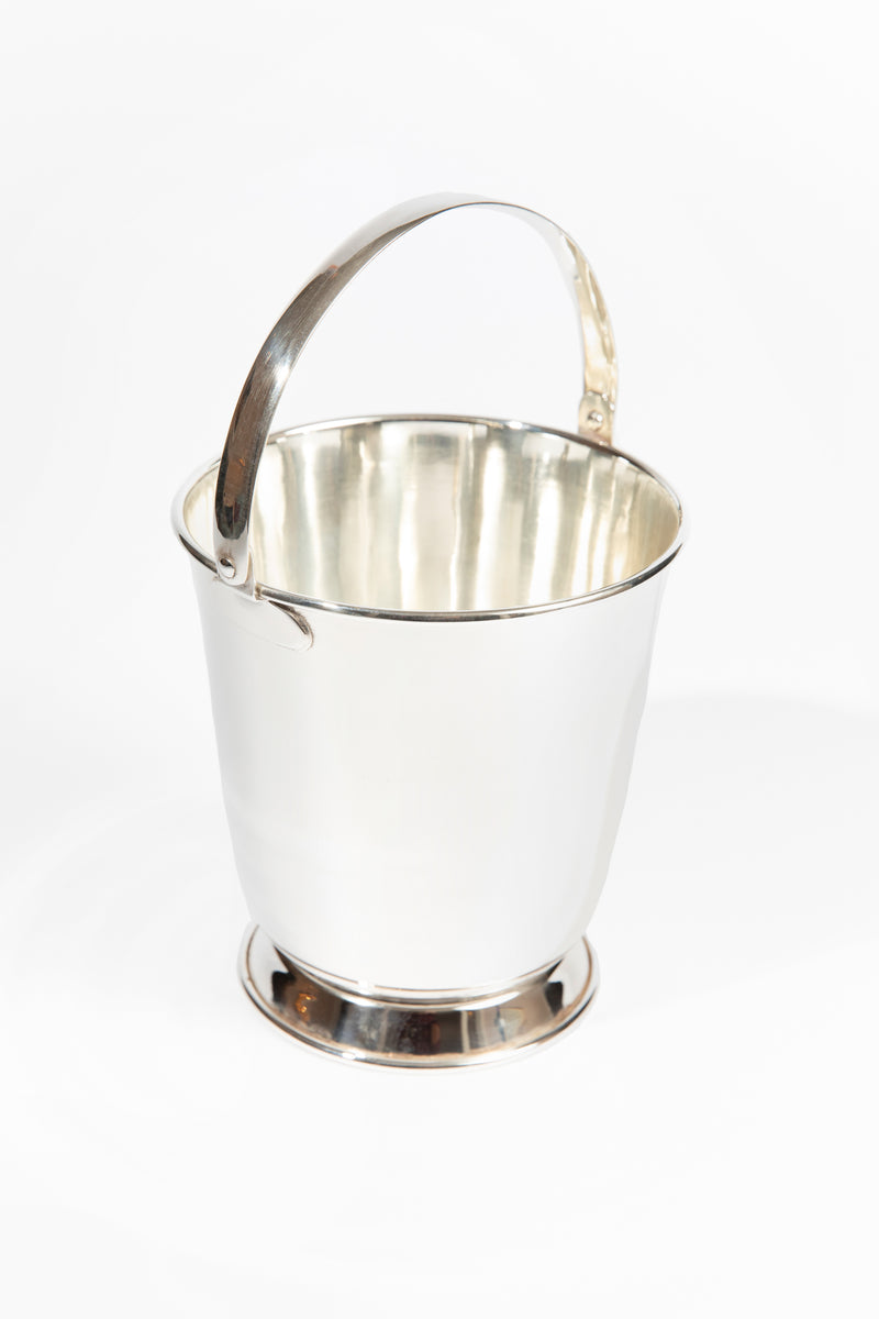 VINTAGE SILVER ICE PAIL CLASSIC