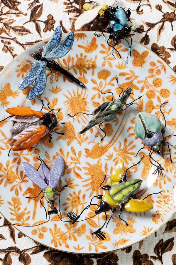 CERAMIC INSECTS