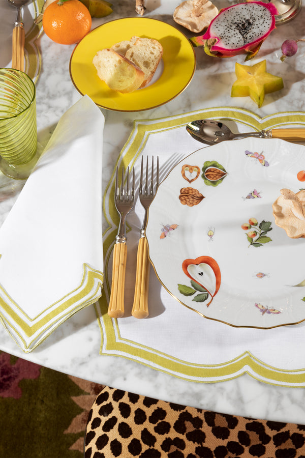 SET OF 5PC PLACE SETTING MARKET GARDEN