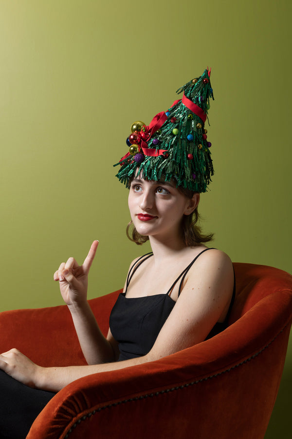 OH CHRISTMAS TREE HAT