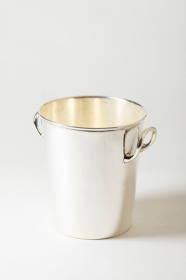 VINTAGE SILVER CHAMPAGNE BUCKET