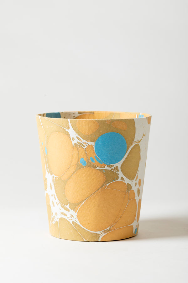 MARBLED PAPER CACHEPOT