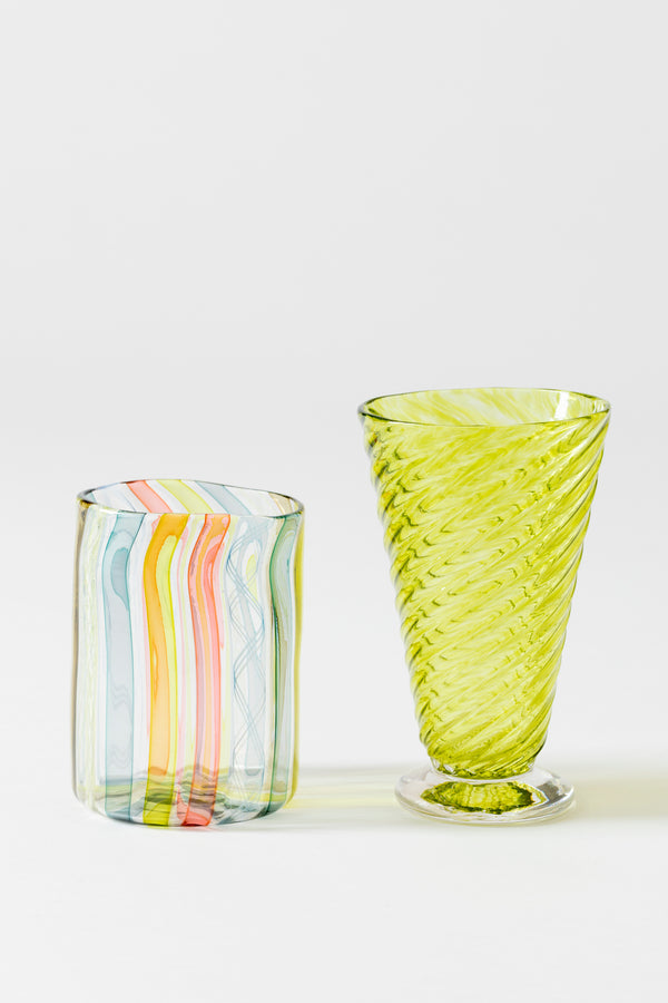 CHARTREUSE TWIST GOBLET