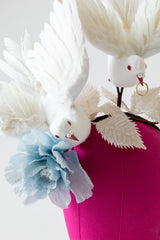 WEDDING DOVES HEADBAND
