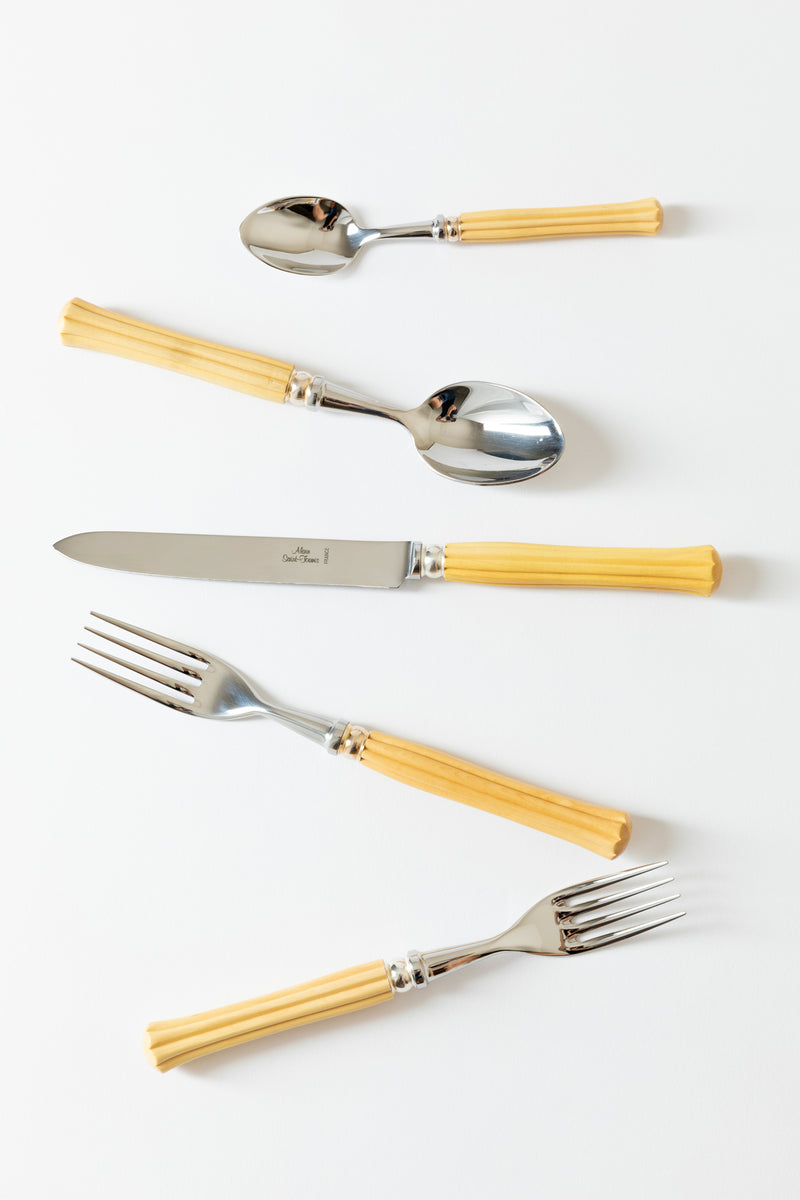 SET OF 5 MAJESTIC BOXWOOD FLATWARE