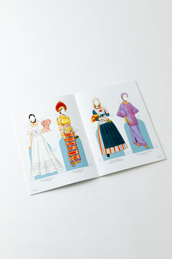 BRIDES FROM AROUND THE WORLD PAPER DOLLS