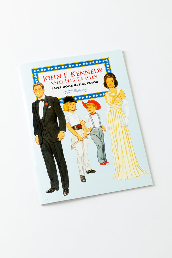 JFK & His Family Paper Doll