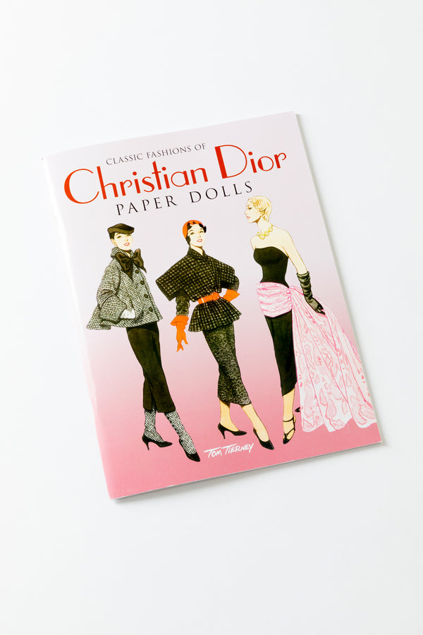 CHRISTIAN DIOR PAPER DOLLS