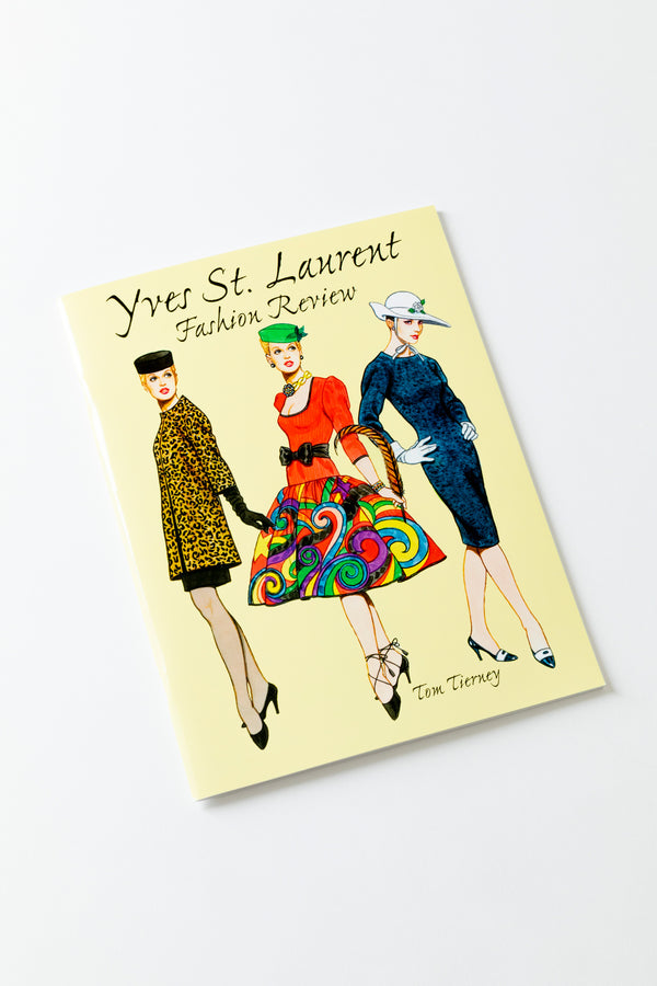 YVES ST. LAURENT PAPER DOLLS
