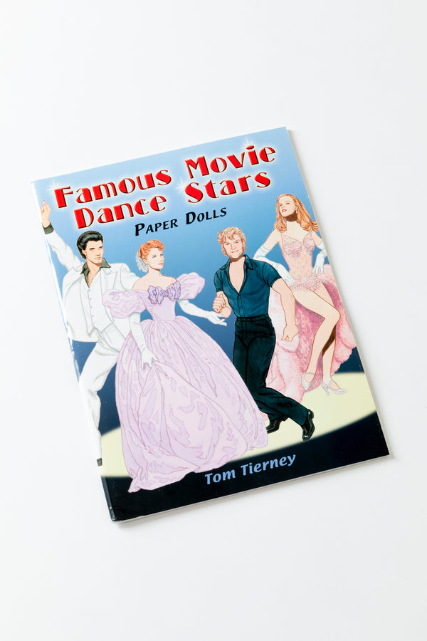 CINEMA DANCE STARS PAPER DOLLS