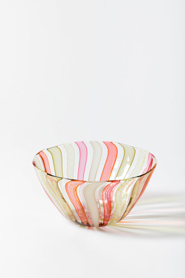 LATTICINO BOWL BLUSH & BASHFUL