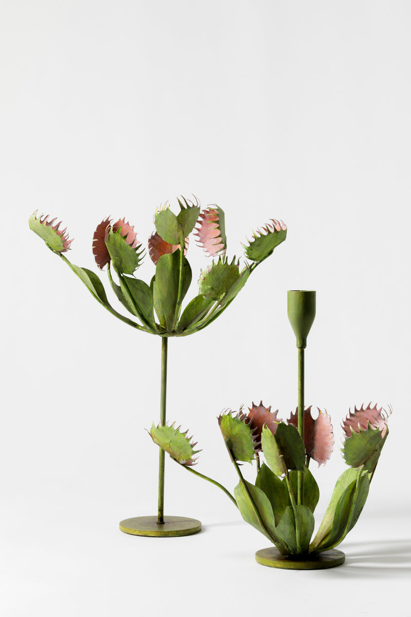 VENUS FLY TRAP CANDLESTICK