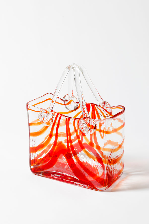 VINTAGE MURANO GLASS SHOPPING BAG
