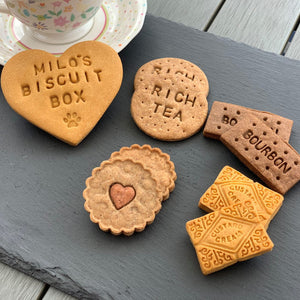 Personalised Tea Time Biscuits