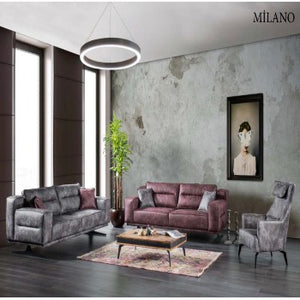 MILANO - 3 PIECE SOFA SET