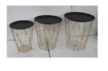 MODEL SET OF 3 TABLES