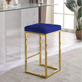 HAYDEN BAR STOOL-GOLD STEEL