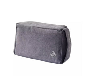 BLOCK / ROLLER FOR YOGA FROM FABRIC GRAY DOMYOS