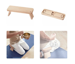 BENCH FOR YOGA / MEDITATION FROM BEECH TREE DOMIOS