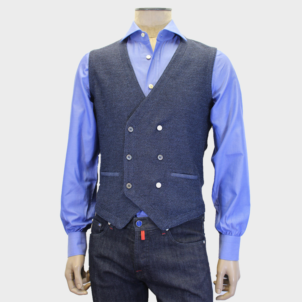 Gran Sasso Double Breast Sweater Vest