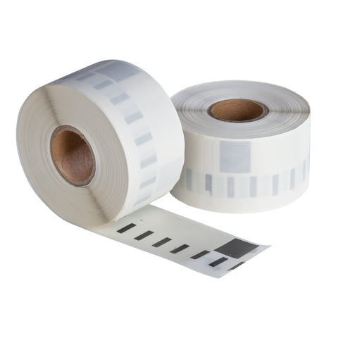 Dymo 99013 / S0722410 compatible labels, 36 mm x 89 mm, 260 etiketten per rol, transparant, permanent