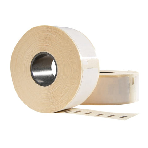 Dymo 99012 / S0722400 compatible labels, 89 mm x 36 mm, 260 etiketten per rol, wit, permanent
