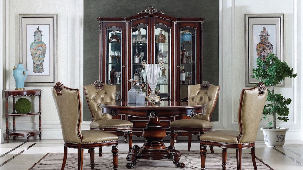 Marseille French Four Door Display Cabinet