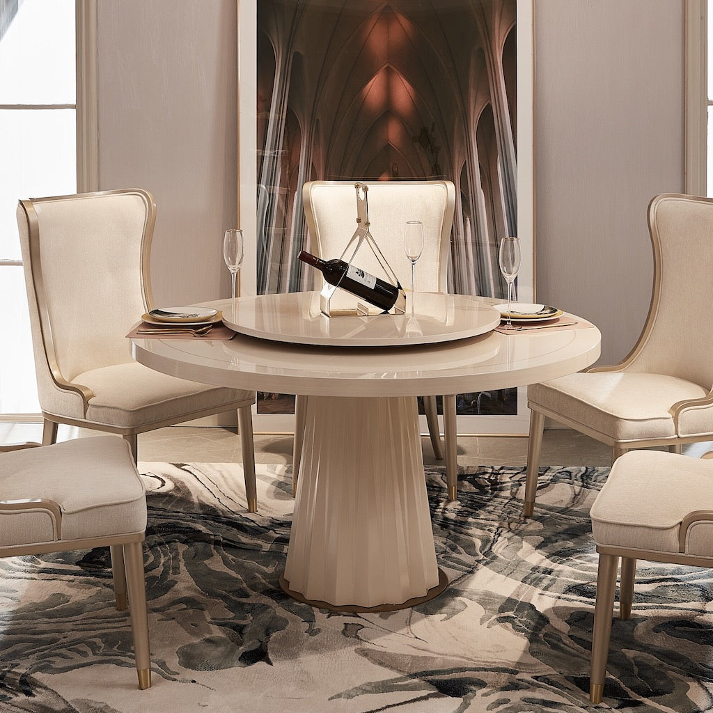 Menlo Round Dining Table