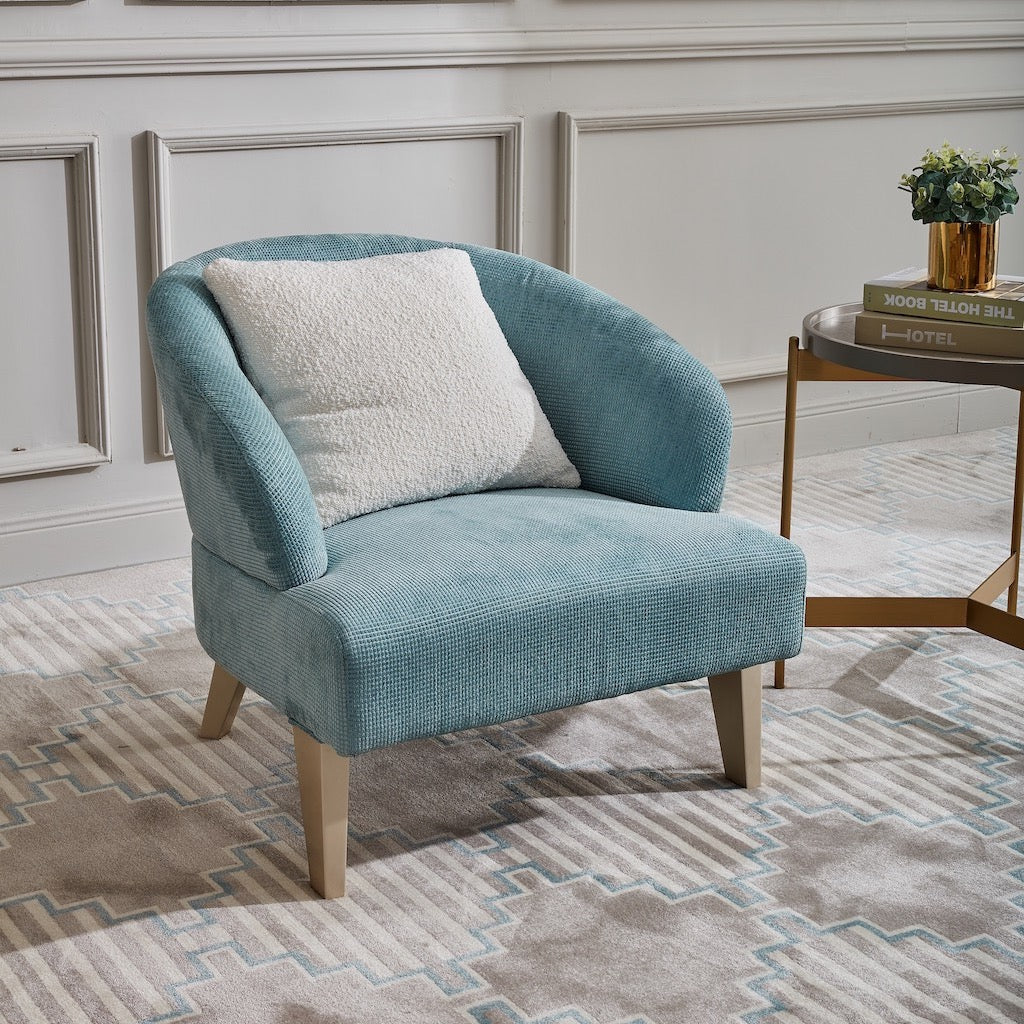 Madison Baby Blue Armchair