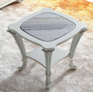Antoinette Marble French Side Table