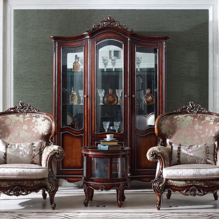 Marseille Three Door Display Cabinet