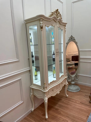 Lyon Two Door French Display Cabinet