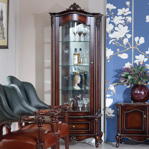 Marseille Tall Display Cabinet