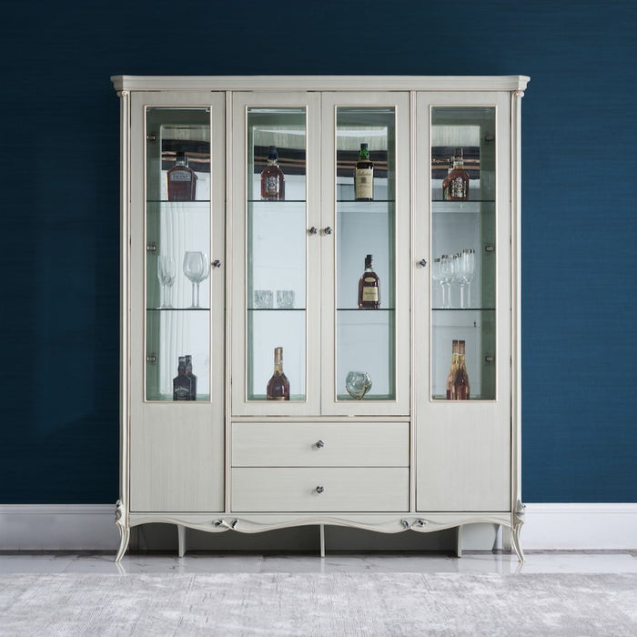 Antoinette Four Door Display Cabinet