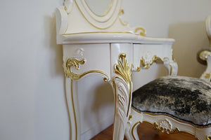 Lyon Dressing Table & Stool