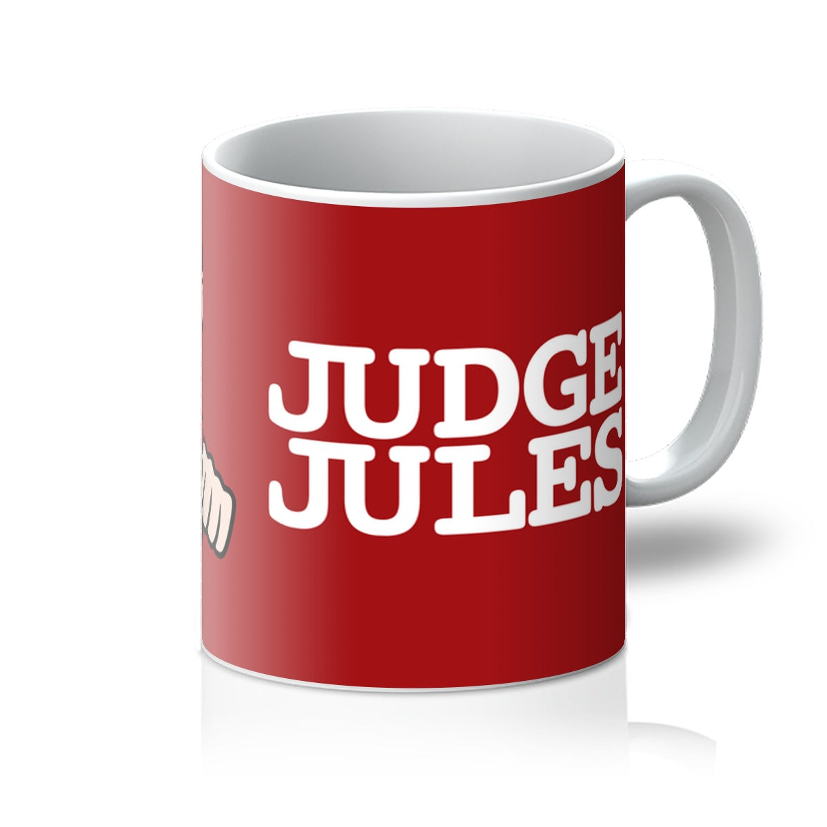 Cartoon Judge Mug