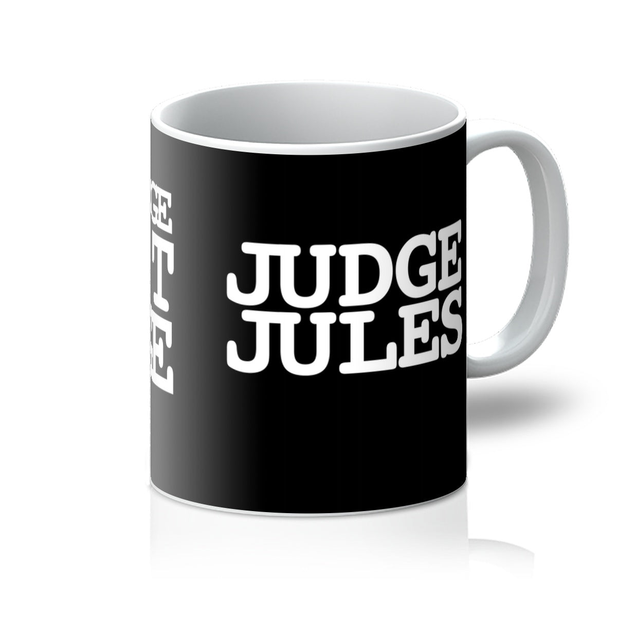 The Judge Won't Budge Mug