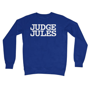 Judge Jules Logo Crew Neck Sweatshirt