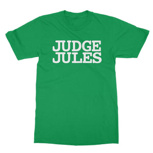 Judge Jules Logo Softstyle T-Shirt