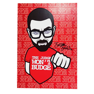 Signed Judge Jules A3 Poster (Limited Edition)