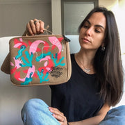 Francesca Romana Rossi with Customized LunchKraft Paper Leather Lunchbox