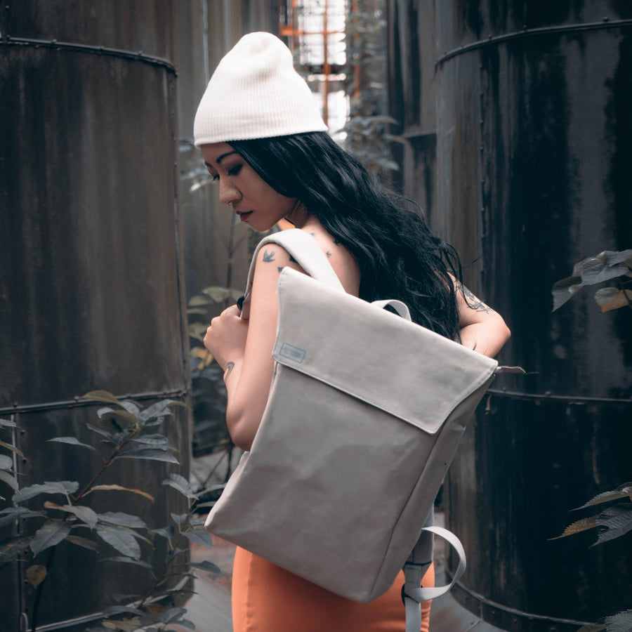 Flip-Top DrawBag (Grey)
