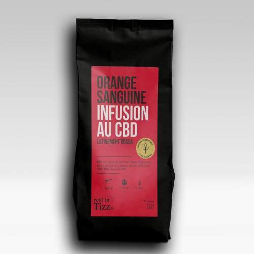 INFUSION BIO AU CBD| ORANGE SANGUINE - Le bar à liquide